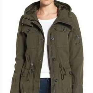 Levi's Green Utility Jacket